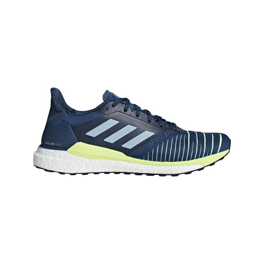 Modré pánské běžecké boty Adidas - velikost 42,5 EU