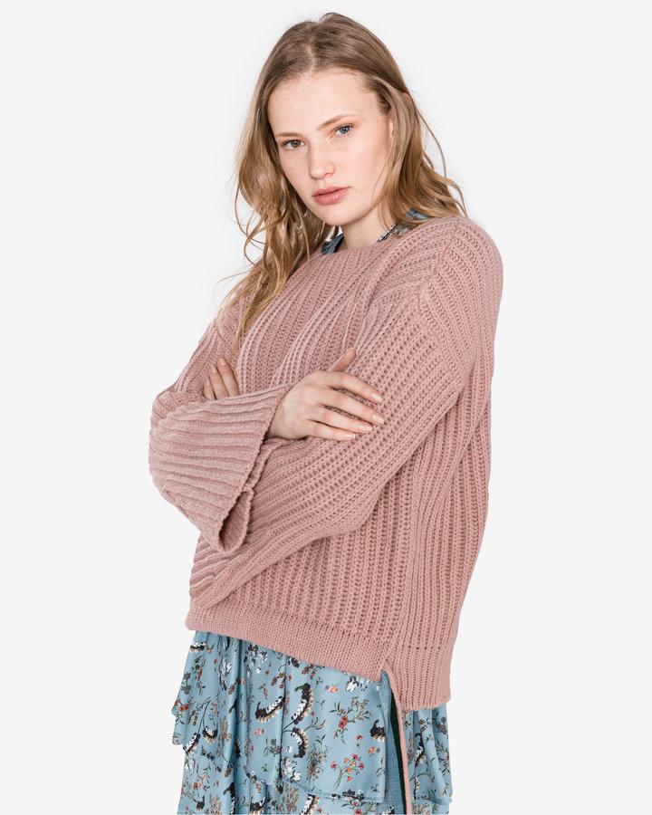 Růžový dámský svetr Pinko - velikost M