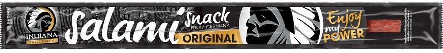 Sušené vepřové maso - Indiana Jerky Salami snack original 18g