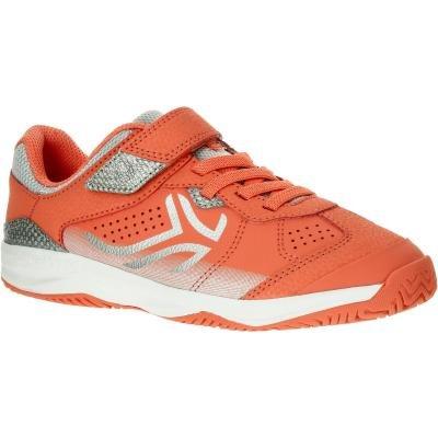 Oranžové tenisové boty - obuv TS 160, Artengo - velikost 35 EU