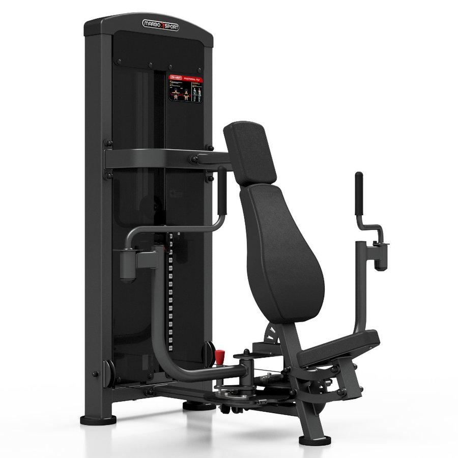 Posilovací stroj na prsa Marbo - nosnost 150 kg