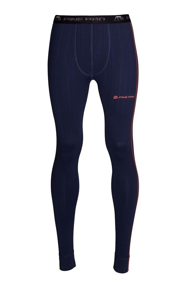 Modré pánské funkční kalhoty Alpine Pro