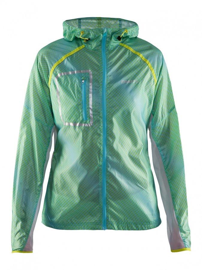 Zelená dámská cyklistická bunda Craft - velikost L