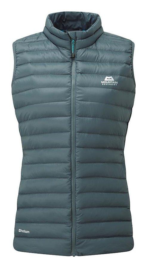 Modrá zimní dámská vesta Mountain Equipment