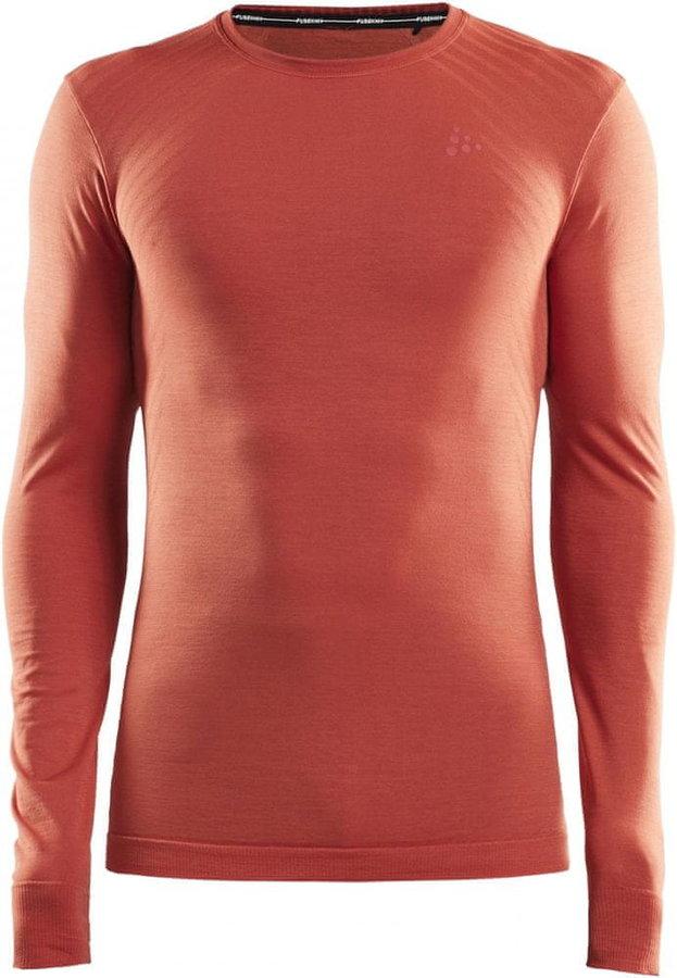 Oranžové pánské funkční tričko Craft