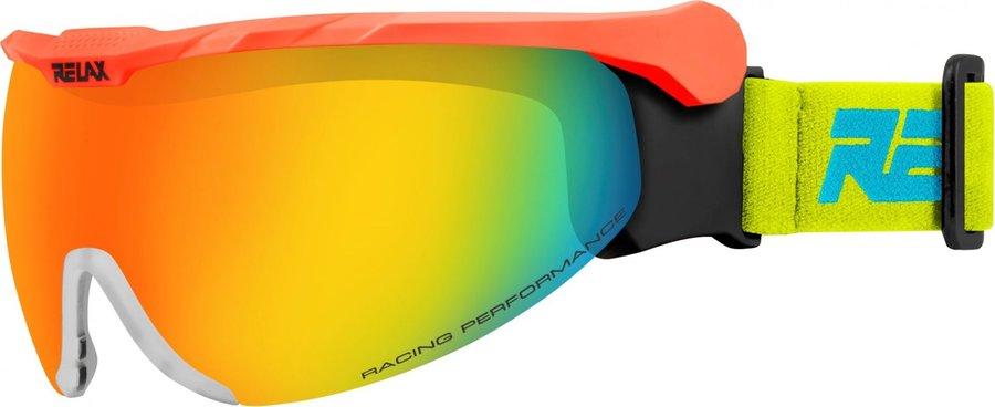 Červené lyžařské brýle Relax