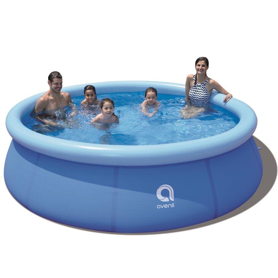 Nafukovací nadzemní kruhový bazén Master Pool - průměr 300 cm a výška 76 cm