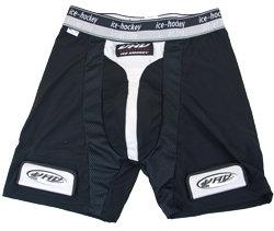 Hokejové kraťasy - Suspenzor + šortky s podvazky Opus 4016 SR černá M