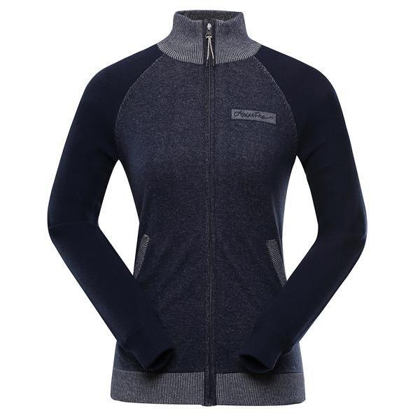 Modrý dámský svetr Alpine Pro - velikost S-L