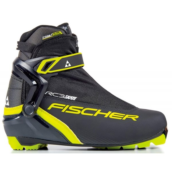 Černé pánské boty na běžky Fischer - velikost 45 EU