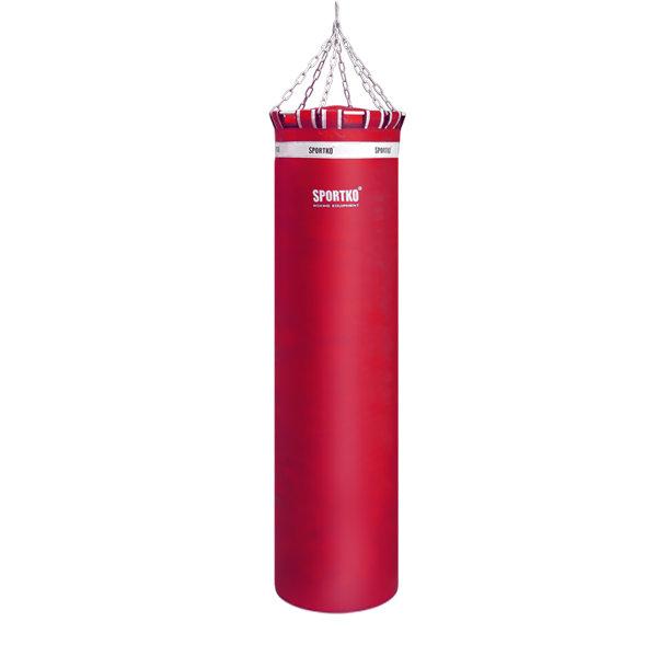 Červený boxovací pytel SportKO - 80 kg