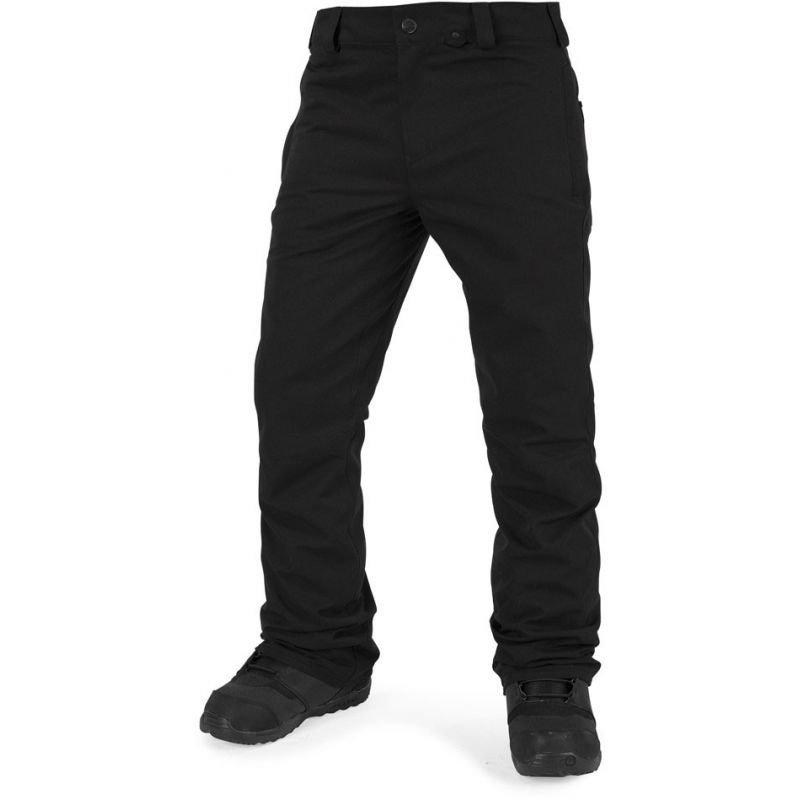 Černé pánské snowboardové kalhoty Volcom - velikost L