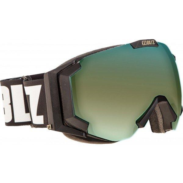 Černé lyžařské brýle Bliz