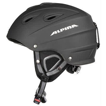 Černá lyžařská helma Alpina - velikost 57-61 cm