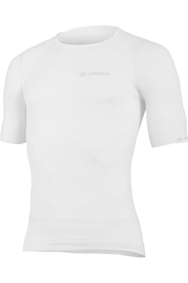 Bílé pánské termo tričko s krátkým rukávem Lasting
