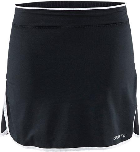 Černá dámská sukně Craft, Černé dámské cyklistické kraťasy Craft