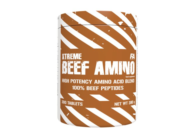 Protein - Fitness Authority Xtreme Beef Amino 300 tablet