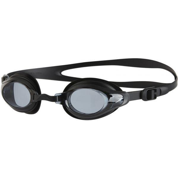 Černé závodní plavecké brýle Speedo