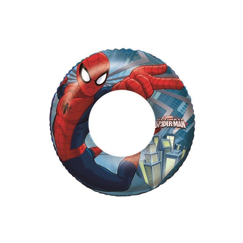 Různobarevný dětský nafukovací kruh - průměr 51 cm