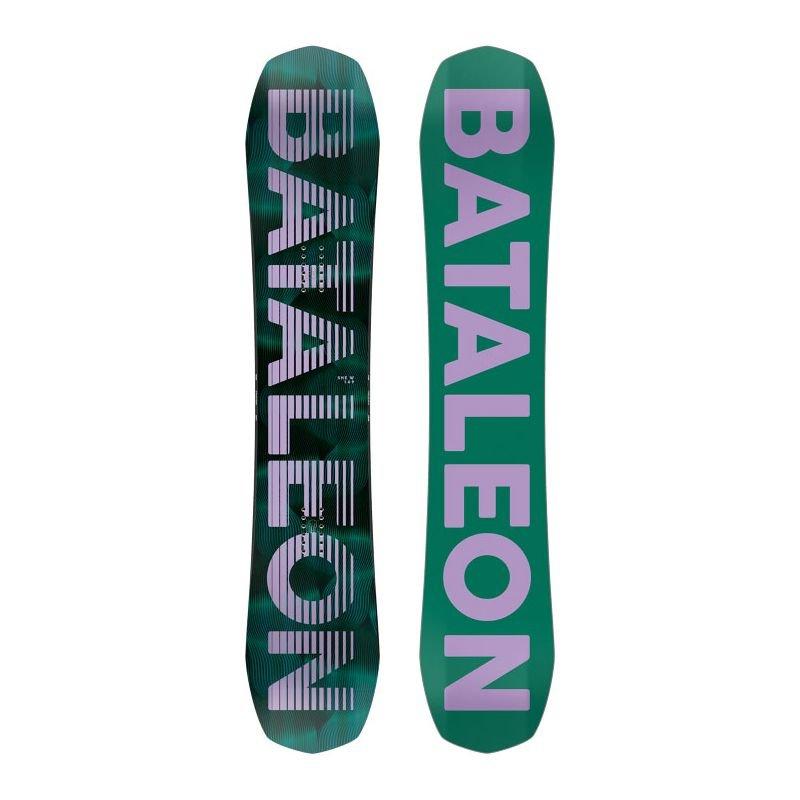 Zelený snowboard bez vázání Bataleon - délka 143 cm