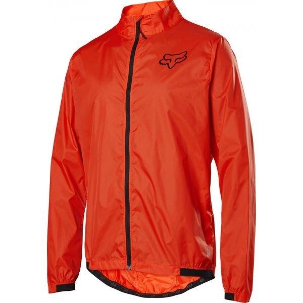 Červená pánská cyklistická bunda Fox