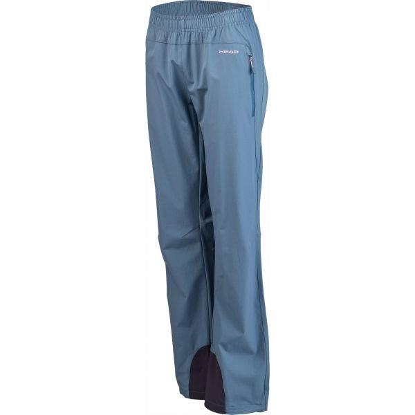 Modré softshellové dámské kalhoty Head
