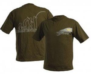 Zelené pánské tričko DOC Fishing