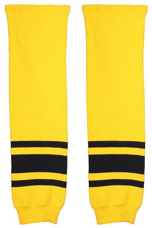 Hokejové štulpny - Merco Malše hokejové štulpny žák žlutá-černá 1 pár