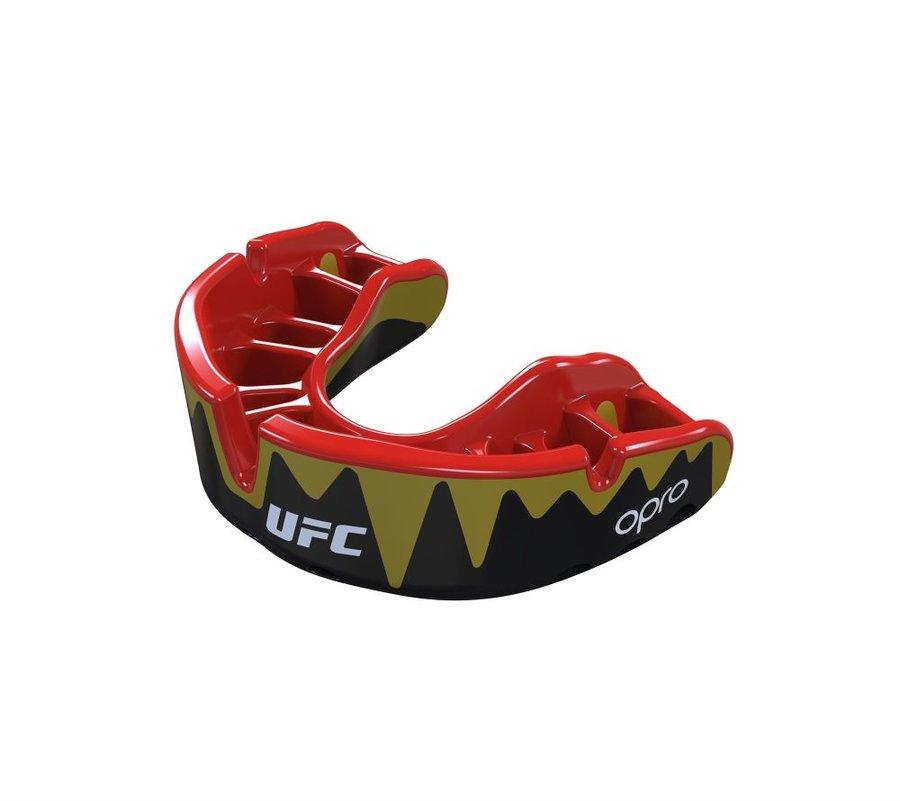 Černý chránič na zuby na bojové sporty UFC