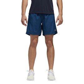 Modré pánské běžecké kraťasy Adidas - velikost L