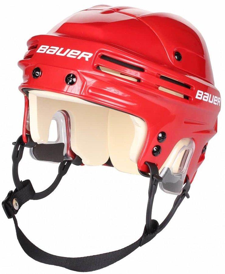 Hokejová helma - Hokejová helma Bauer 4500 SR červená, vel. S