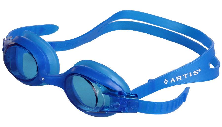 Modré dětské chlapecké nebo dívčí plavecké brýle Slapy JR, Artis