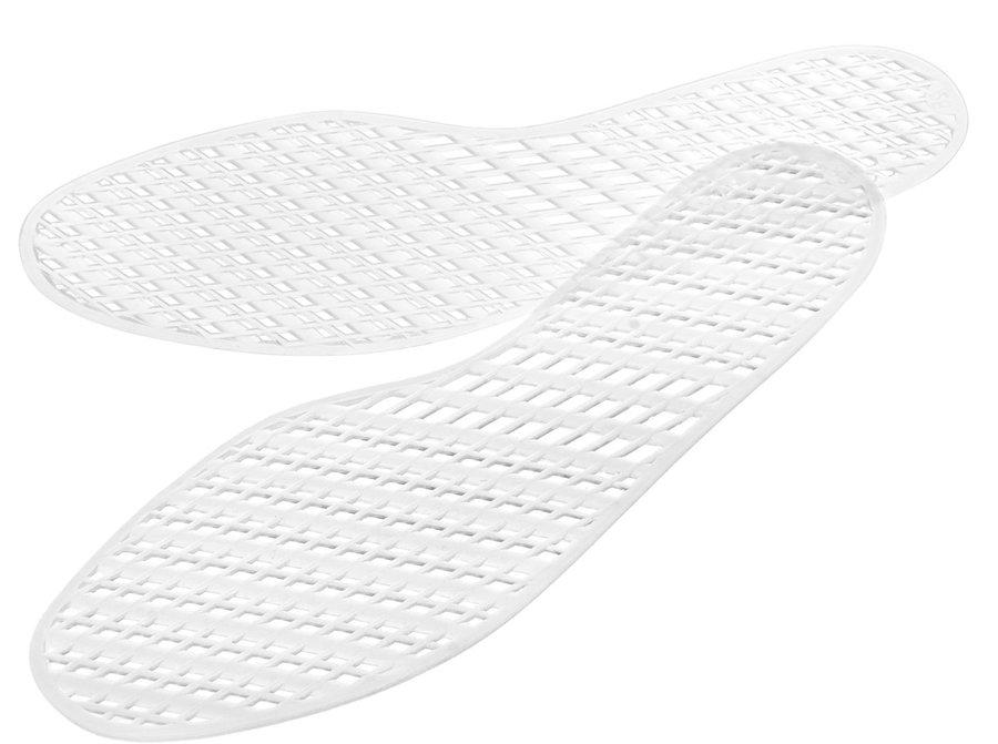 Bílé vložky do bot Bennon