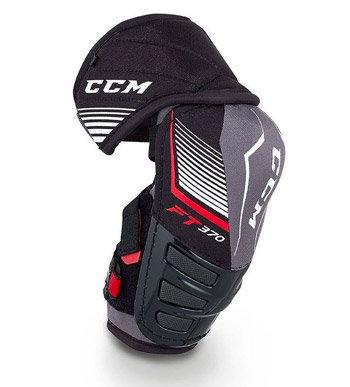 Černo-šedý hokejový chránič loktů CCM