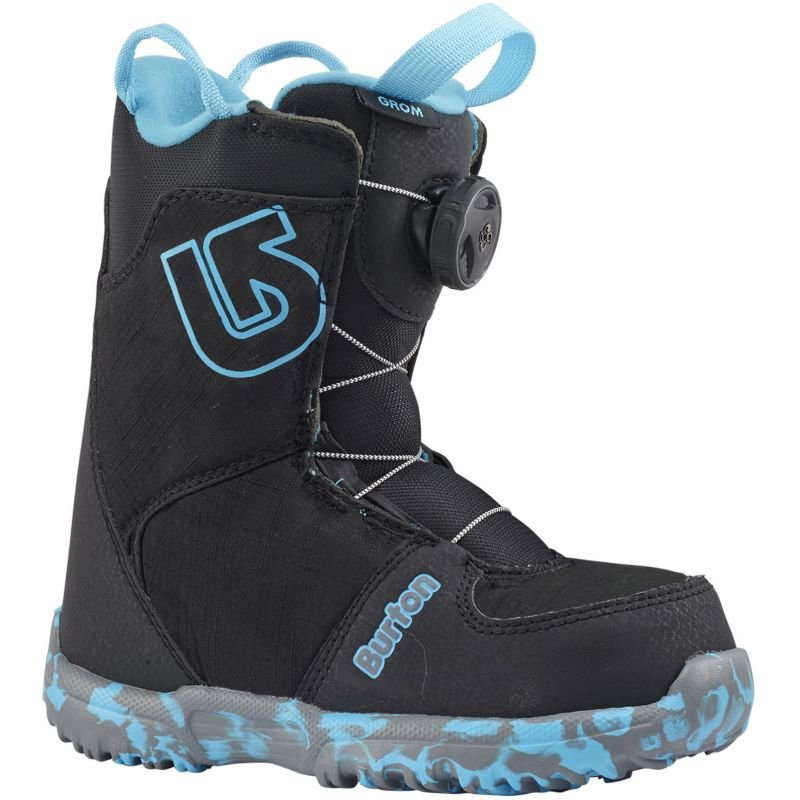 Černé dětské boty na snowboard Burton - velikost 31,5 EU