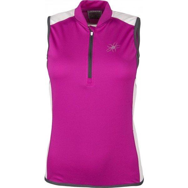 Růžový dámský cyklistický dres Arcore