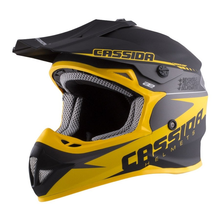 Helma na motorku Cassida - velikost 48-49 EU a velikost 48-49 cm