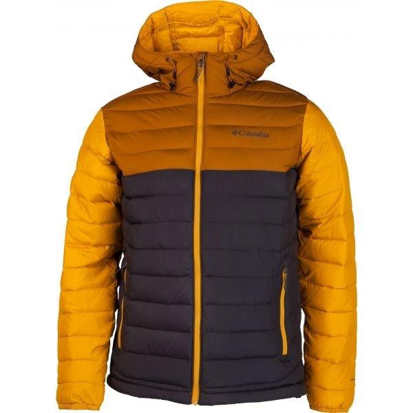 Černo-oranžová pánská bunda Columbia