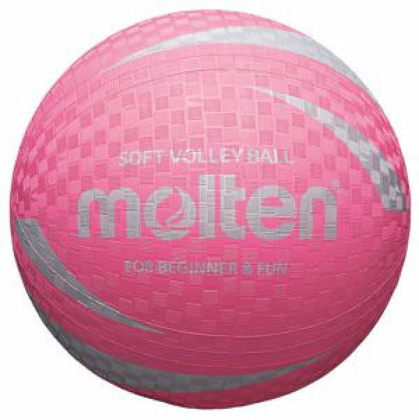 Růžový volejbalový míč S2V1250-P, Molten