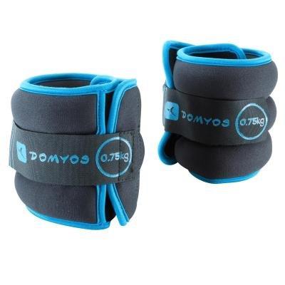 Modré závaží na ruce a nohy Domyos - 0,75 kg