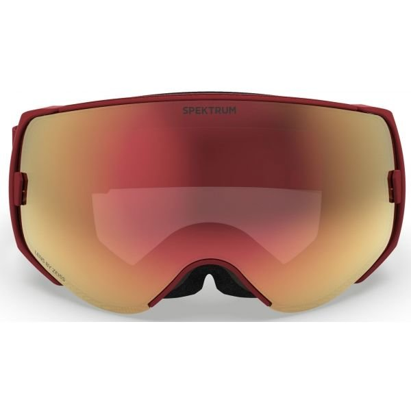 Červené lyžařské brýle Spektrum