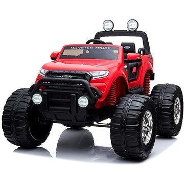 Červené dětské elektrické autíčko Ford Ranger Monster, Beneo