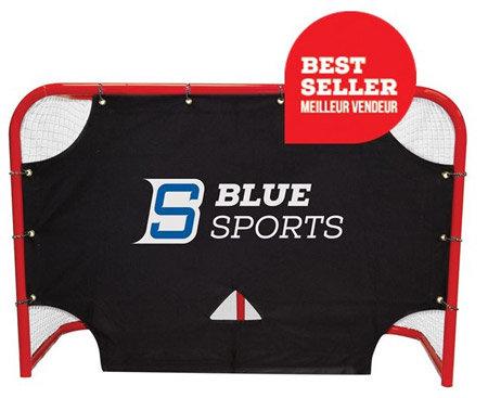 Černá střelecká hokejová plachta Blue Sports