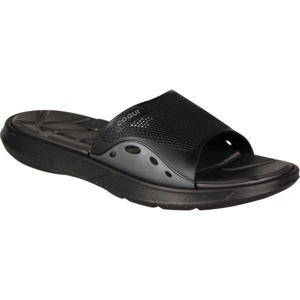 Černé pánské pantofle Coqui