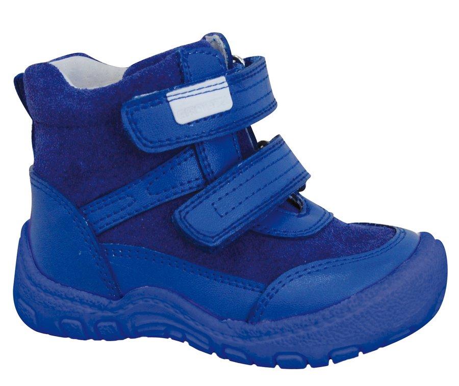 Modré chlapecké zimní boty Protetika - velikost 21 EU