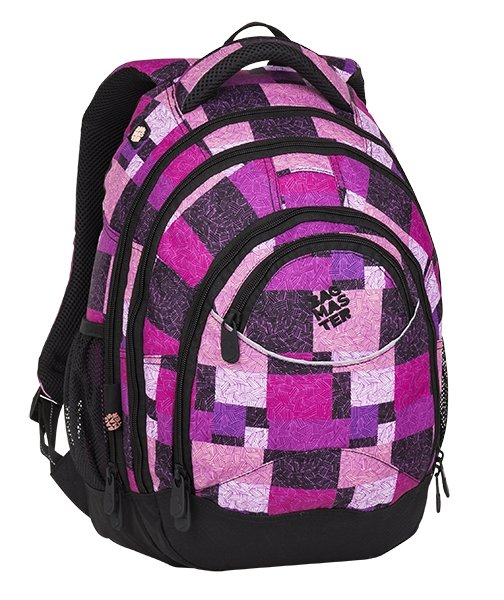 Batoh - Bagmaster Energy 8 D Black/pink/violet