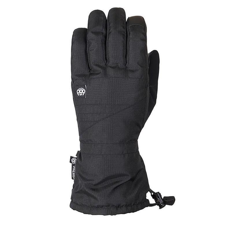 Černé pánské lyžařské rukavice 686 - velikost M