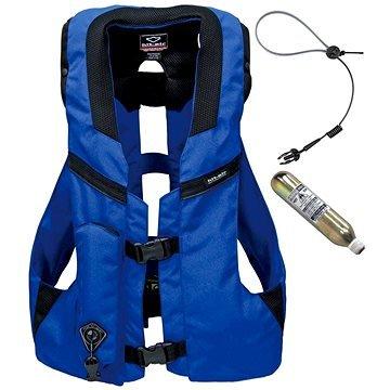 Modrá airbagová vesta Hit-Air