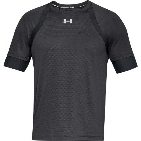Šedé pánské běžecké tričko Under Armour