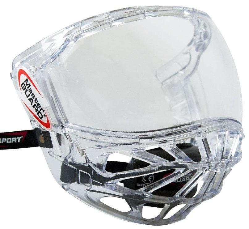 Plexi na hokejovou helmu - Plexi Bosport MasterGuard Provedení: rám čirý, plexi čiré